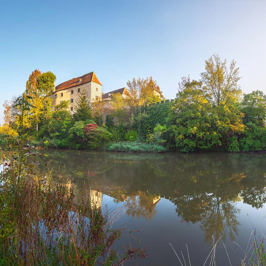 Die Burg Burgschleinitz. © Reinhard Podolsky