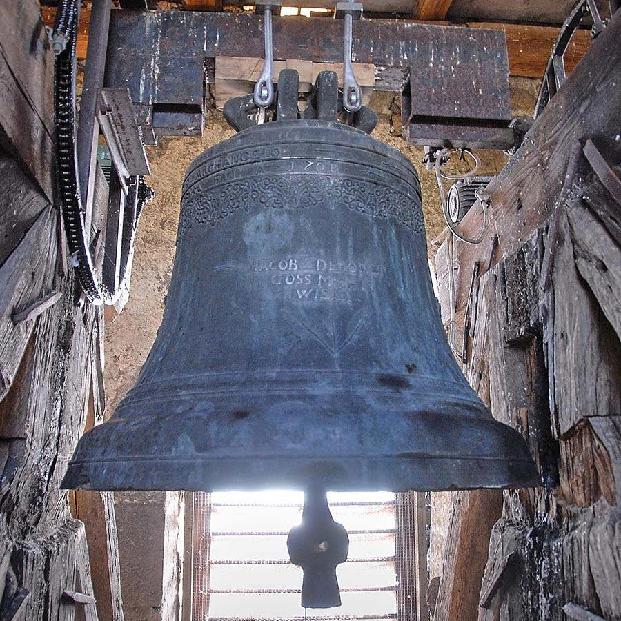 Glocken Burgschleinitz, © Reinhard Podolsky