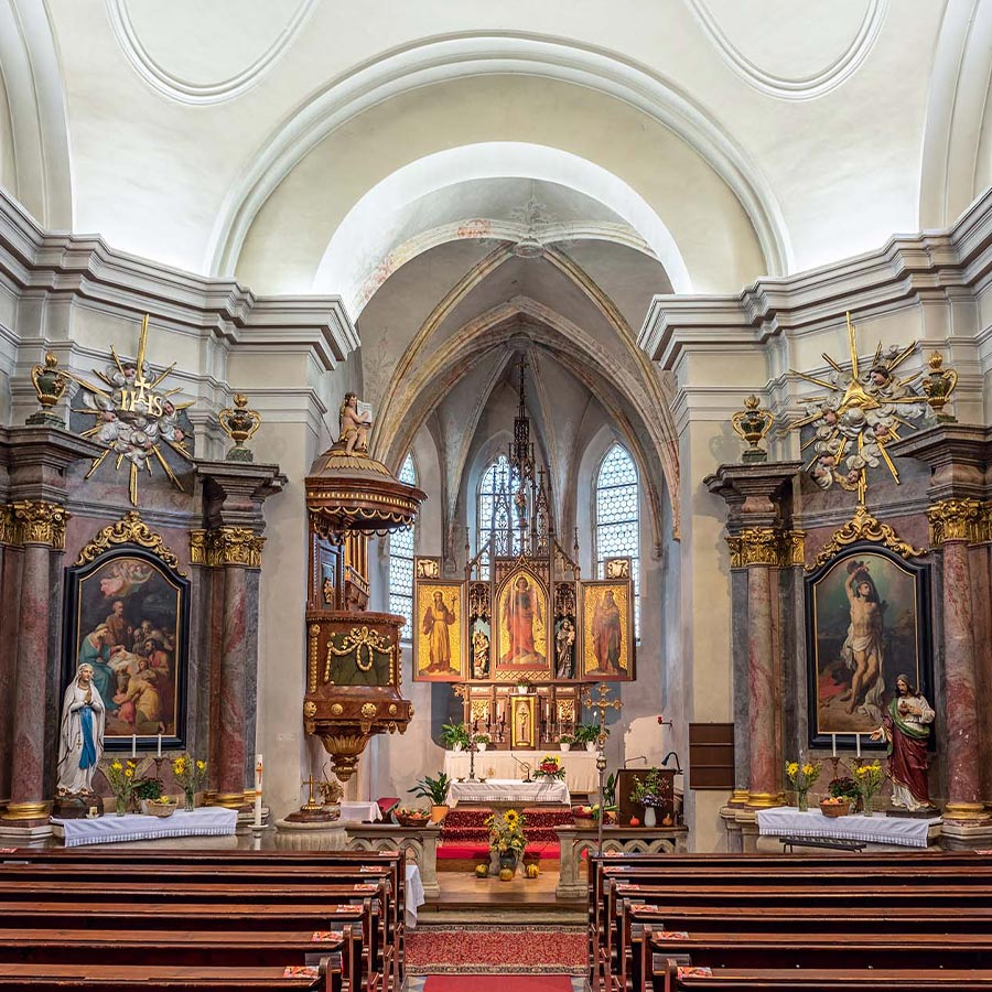 Pfarrkirche Burgschleinitz, © Reinhard Podolsky