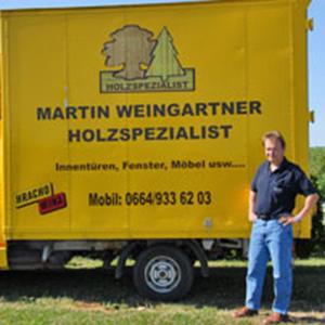 Holzspezialist Martin Weingartner