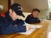 Wissenstest- und Wissensspieleüberprüfung der Feuerwehrjugend